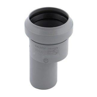 Adaptor reductie excentrica gri PP D 32/40