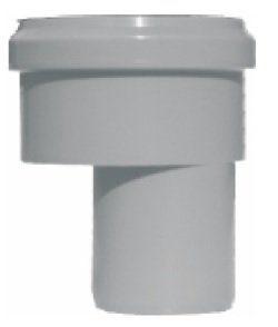 Adaptor reductie excentrica gri PP D 40/50