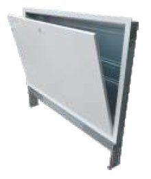 Caseta metal colectori dulap D 600x550x110-170 Valrom