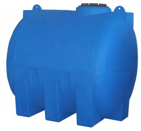 Rezervor apa cilindric orizontal suprateran V 1500 2000 3000 litri Valrom