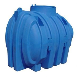 Rezervor apa cilindric orizontal subteran V 3000 litri fara capac Valrom