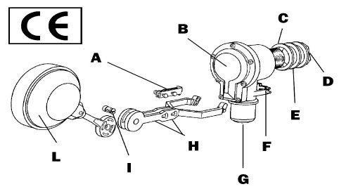 Plutitor mecanic quickstop Valrom
