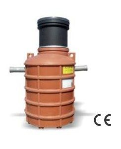 Separator grasimi carosabil PEHD subteran NG 4 cilindric vertical Valrom