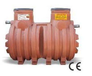 Separator hidrocarburi PEHD CL1 NS6 FS1200 Valrom