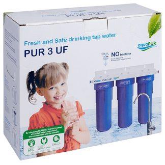 "Sistem filtrare apa potabila PUR 3 UF 10"""
