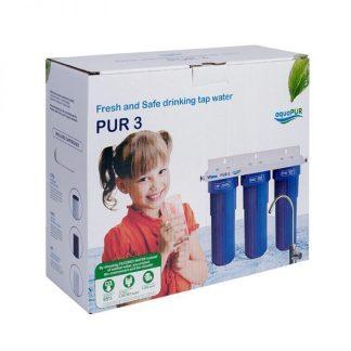 "Sistem filtrare apa potabila PUR 3 10"""