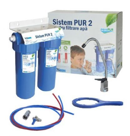 "Sistem filtrare apa potabila PUR 2 10"""