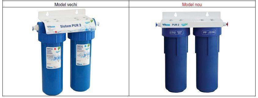 Sistem filtrare apa potabila PUR 2 10